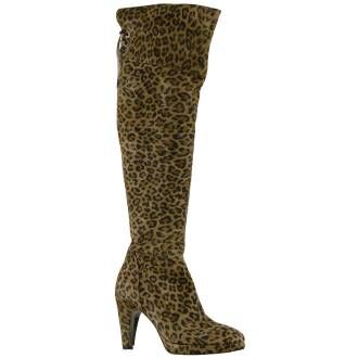 Luca Mode Stiefel Luca Mode leopardino 69 NATALY